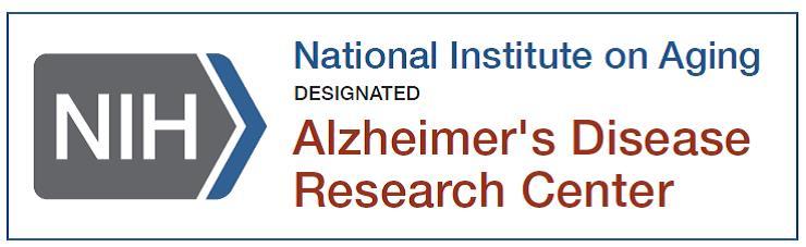 N I A Alzheimer's Disease Research Center logo