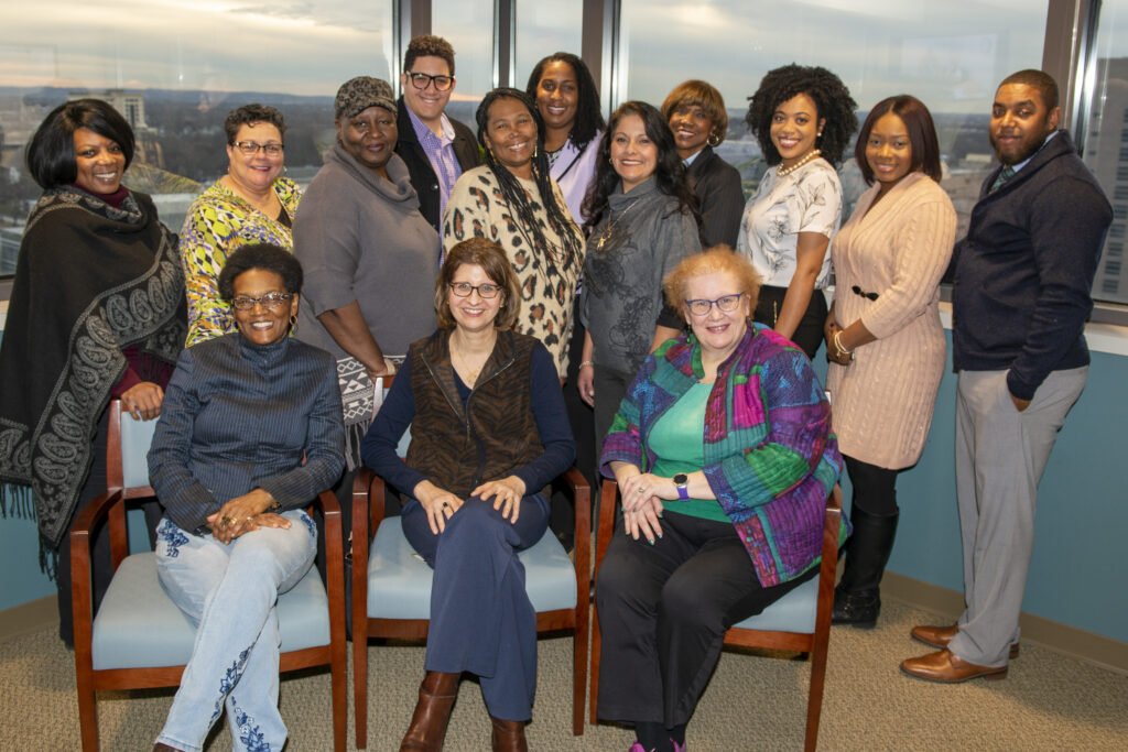 Photograph of the CADRC Minority Advisory Board (Photo by Jim Nolan)